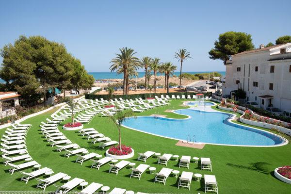 Alcossebre Sea Experience Aparthotel 4 Sterne-Pool-Garten