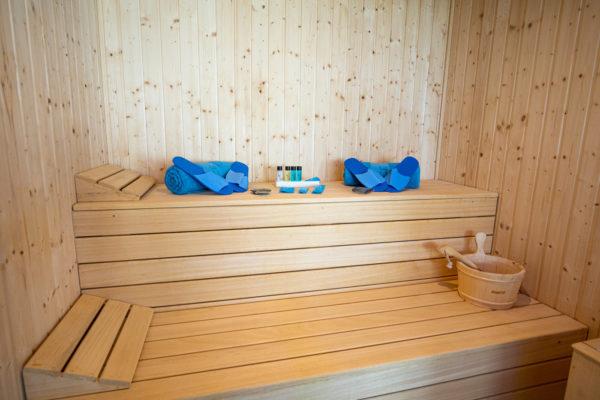 Alcossebre Sea Experience Aparthotel 4 Estrellas SPA Sauna Interior