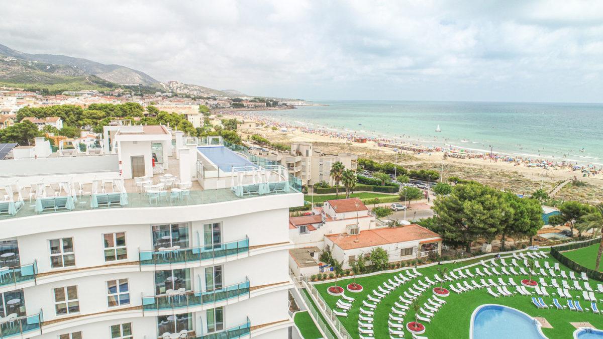 Apartaemntos en Alcossebre Sea Experience Aparthotel 4 Estrellas Skybar Playa Alcossebre