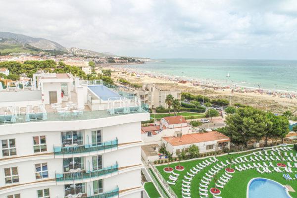 Alcossebre Sea Experience Aparthotel 4 Estrellas Skybar, Jardin y Playa del Cargador