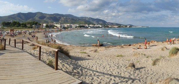 Playa del Cargador, Alcossebre, Alcocebre, Alcoceber