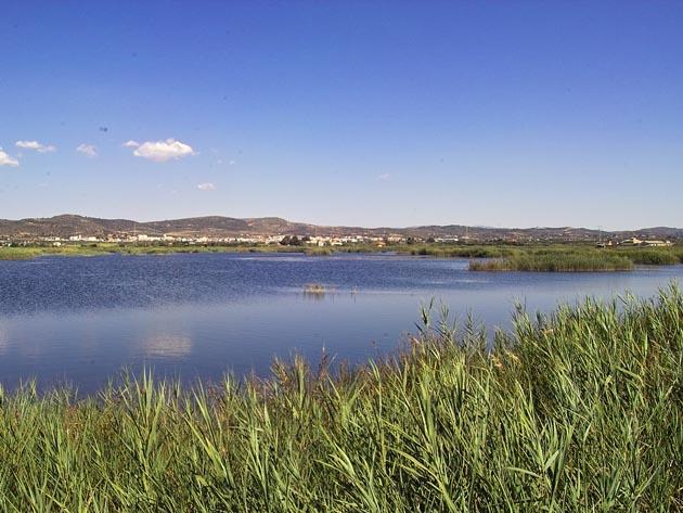 Parque Natural del Prat de Cabanes al Sur de Alcossebre, en Castellón, Comunidad Valenciana.